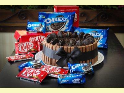 Oreo com KitKat