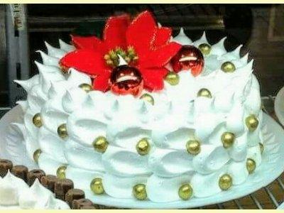 Decoração de Natal com Marshmallow