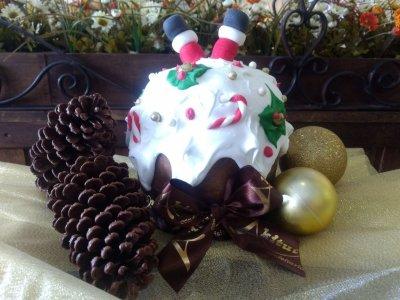 Brigadeiro Branco com Frutas Secas