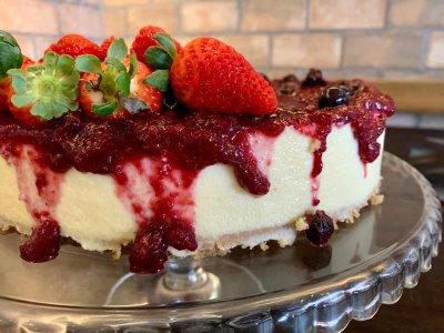 Cheese Cake Assada